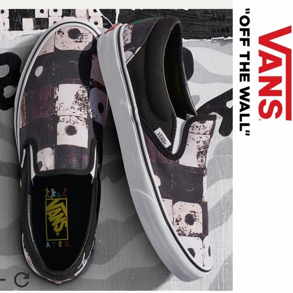 7f8e83bd15 Vans A Tribe Called Quest Slip On Sneakers